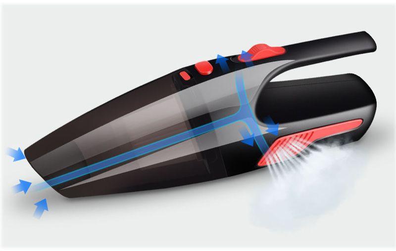 Máy hút bụi cầm tay mini siêu hút TT455 - Công suất 10W