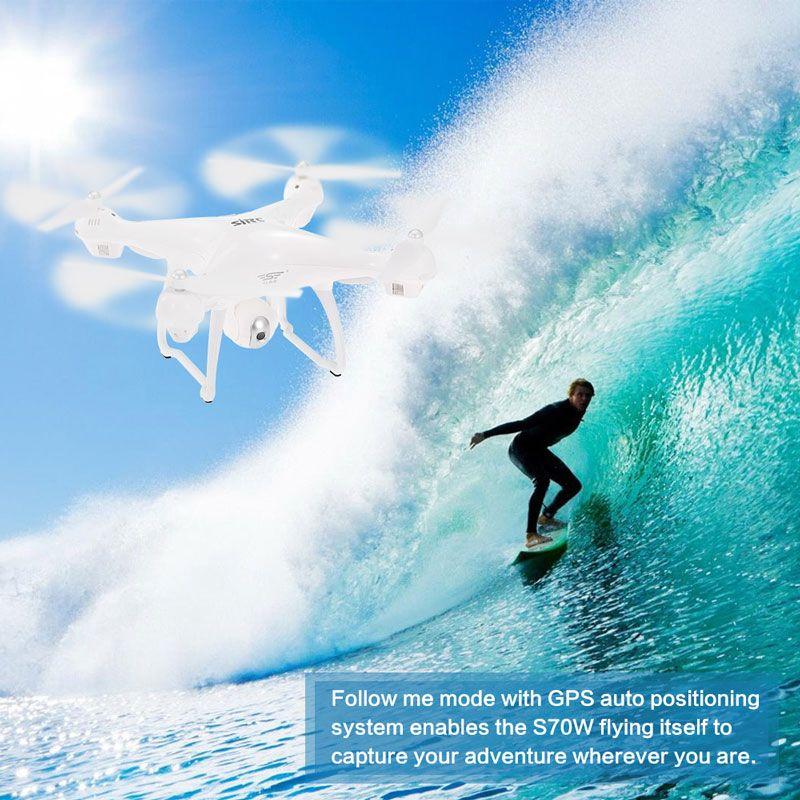 Tính năng Follow Me của flycam S70W