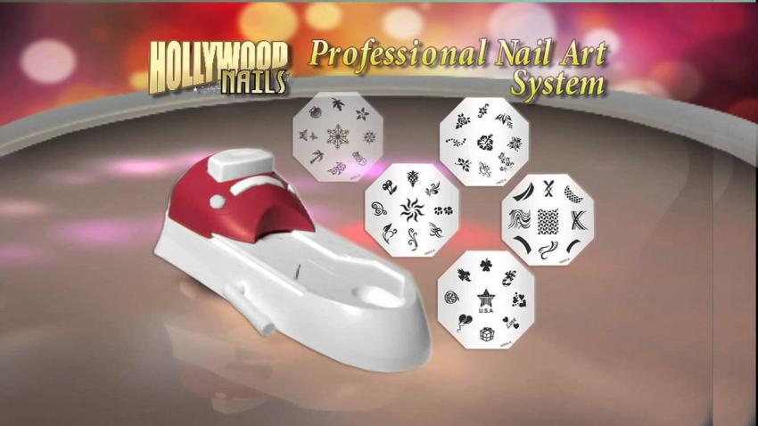 Bộ Dụng Vẽ Móng Tay Hollwood Nail