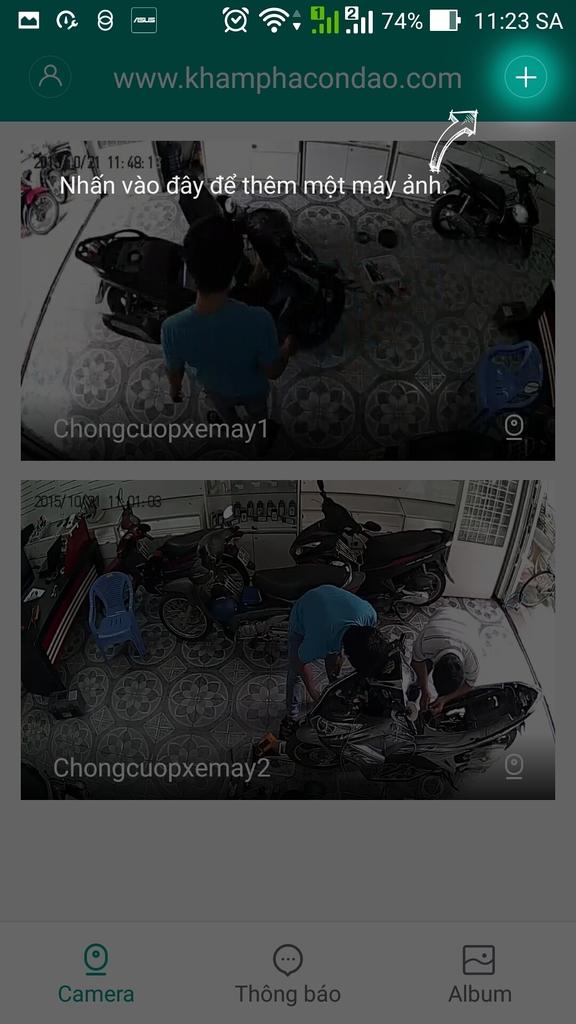Hướng dẫn cài đặt App điều khiển tiếng việt cho Camera Xiaomi.