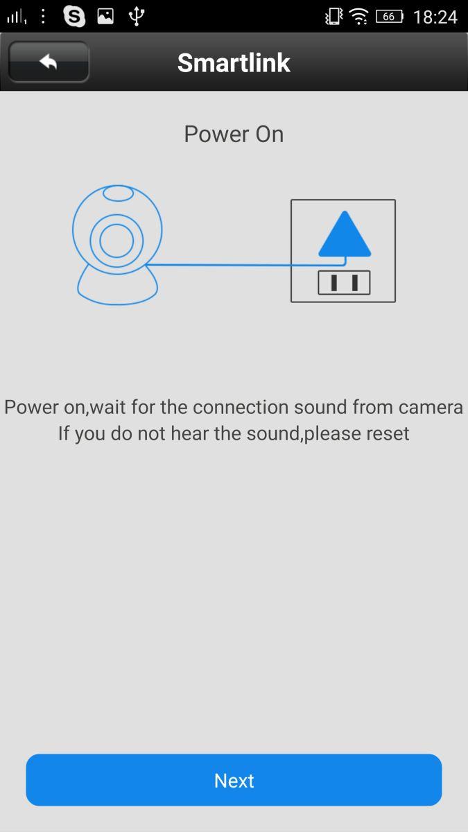 Hướng dẫn cài đặt và sử dụng camera IP 6211y trên điện thoại.