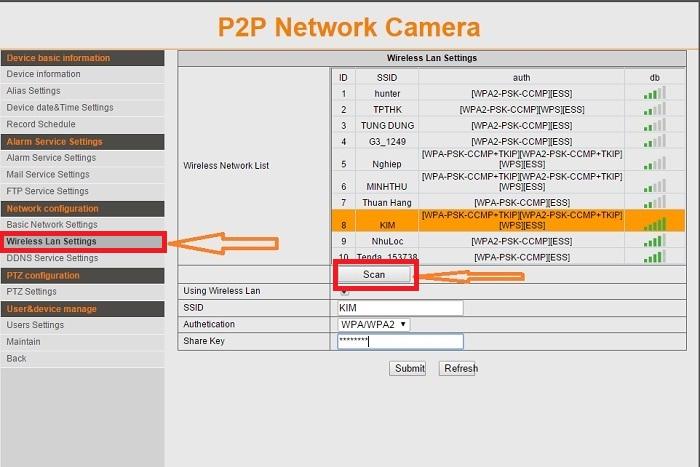 Hướng dẫn cách kết nối camera ip wifi siempem khi không tìm được mạng cực đơn giản.