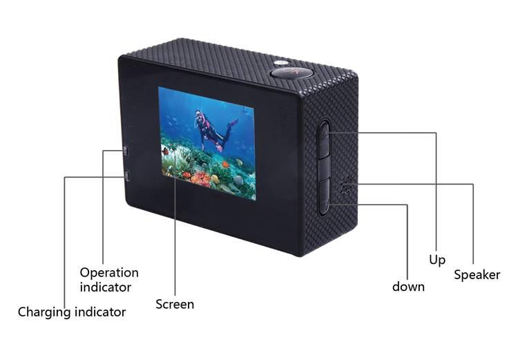 Camera gắn mũ bảo hiểm SJCAM SJ4000 giá rẻ