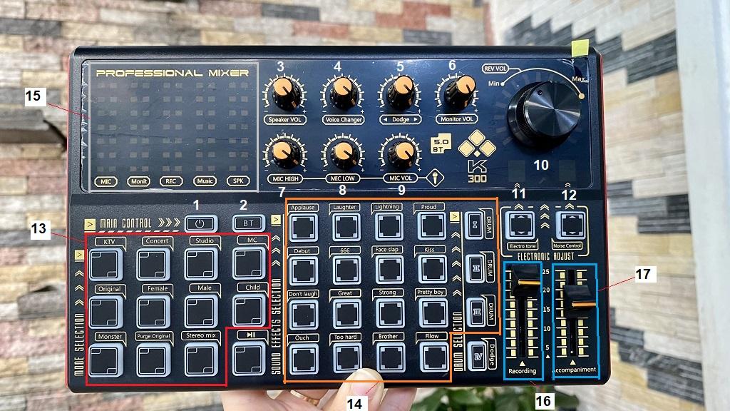 Hướng Dẫn Sử Dụng Sound Card K300 Chi Tiết Dễ Hiểu