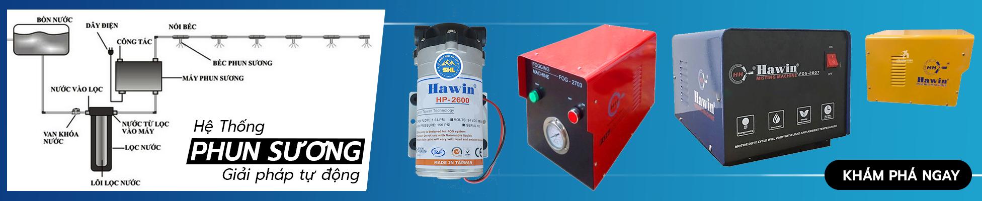 Lắp đặt hệ thống dàn phun sương giá rẻ tại TP HCM