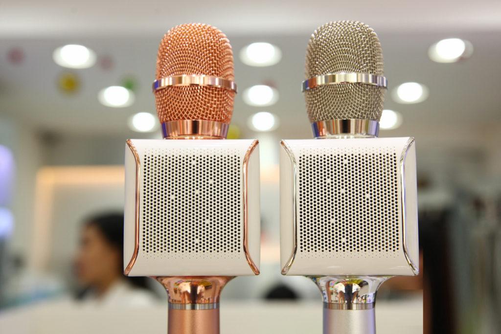Loa kèm micro hát karaoke Tousing Q7s