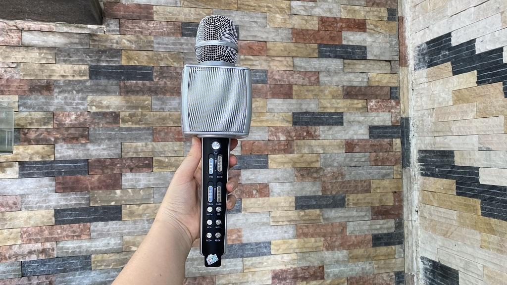 Micro karaoke bluetooth cao cấp SU YOSD YS-92 âm thanh cực đỉnh