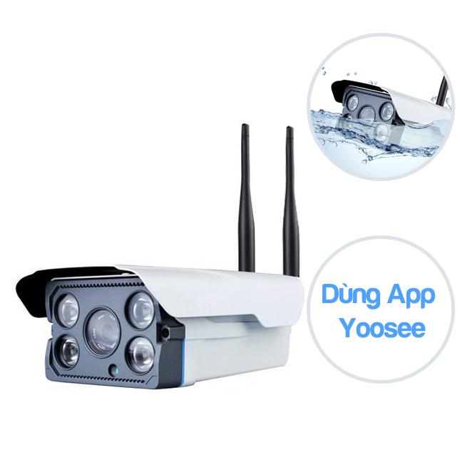 Camera Yoosee ngoài trời NTF102 - 1.3MP chống nước