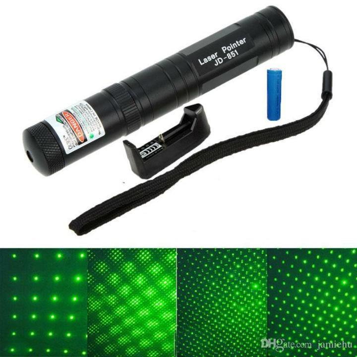 Đèn pin laser xanh JD-851 siêu sáng
